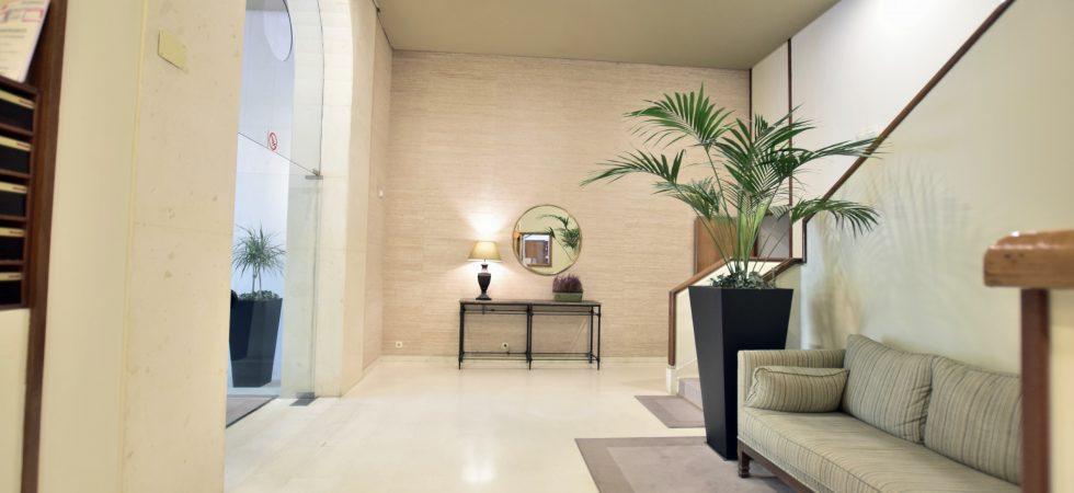 renovated flat in salamanca district