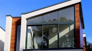 Arquitectura sostenible con madera contra laminada